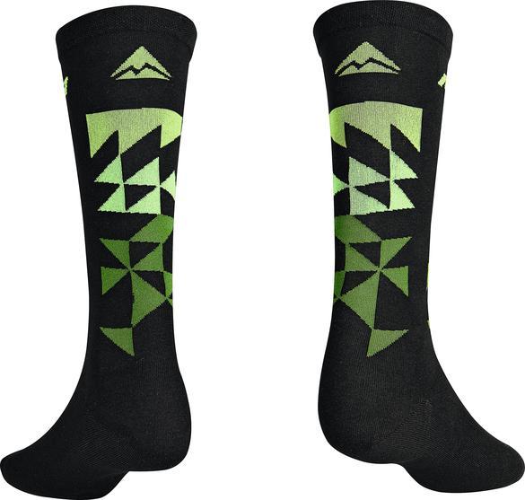 Велоноски Merida Socks Long Black, Green