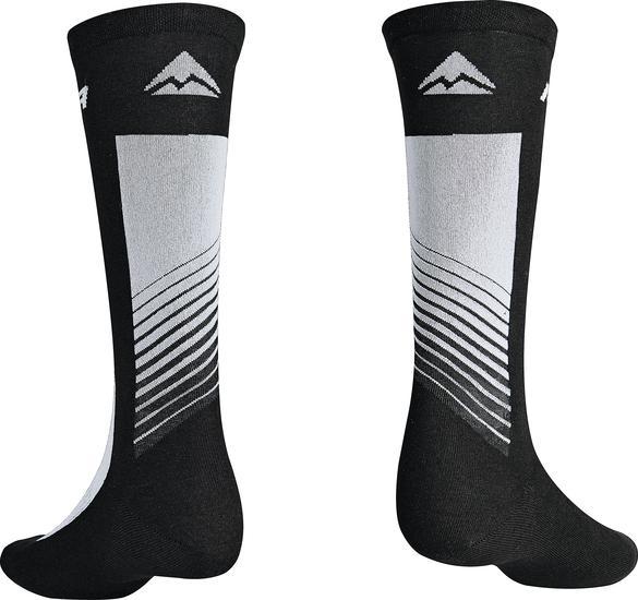 Велоноски Merida Socks Long Black, Grey