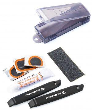 Ремкомплект Merida Repair Set Patches and Levers 105 мм Black