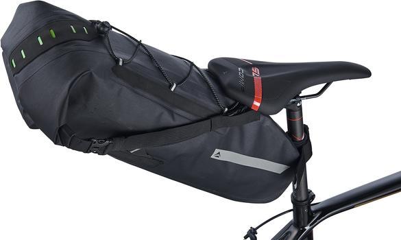 Велосумка под седло Merida Bag/Travel Saddlebag Black XL