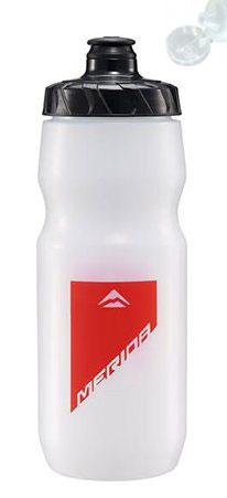 Фляга Merida Bottle/Transparent Red 800 мл с крышкой