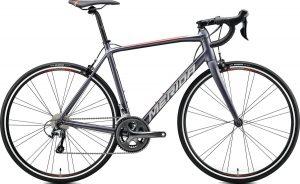 Велосипед 28″ Merida SCULTURA 300 Silk Anthracite (Race Red) 2020