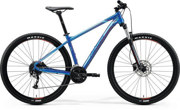 Велосипед 29″ Merida BIG.NINE 100 Glossy Blue (Red) 2020
