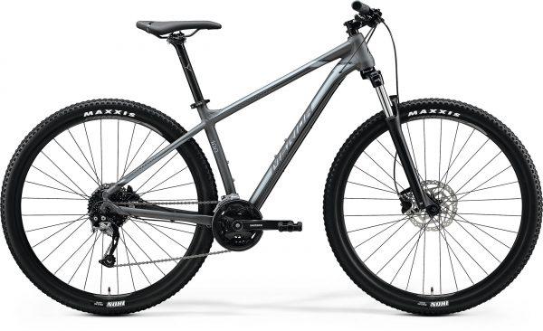 Велосипед 29″ Merida BIG.NINE 100 Matt Dark Grey (Silver) 2020