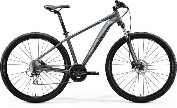 Велосипед 29″ Merida BIG.NINE 20-D Matt Anthracite (Black/Silver) 2020