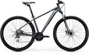 Велосипед 29″ Merida BIG.NINE 20-MD Matt Anthracite (Black/Silver) 2020