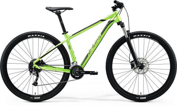 Велосипед 29″ Merida BIG.NINE 200 Glossy Green (Black) 2020