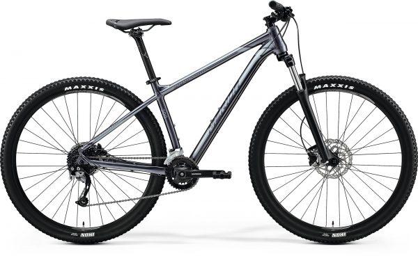 Велосипед 29″ Merida BIG.NINE 200 Glossy Anthracite (Black/Silver) 2020