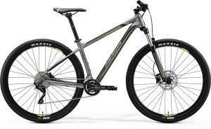 Велосипед 29″ Merida BIG.NINE 300 Silk Anthracite (Green/Black) 2020