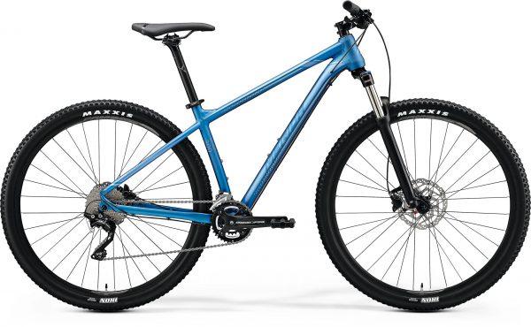 Велосипед 29″ Merida BIG.NINE 300 Matt Light Blue (Glossy Blue/Silver) 2020
