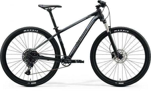 Велосипед 29″ Merida BIG.NINE 400 Matt Black (Silver/White) 2020
