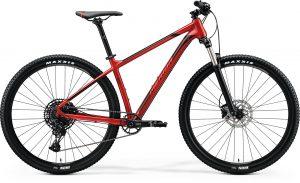Велосипед 29″ Merida BIG.NINE 400 Silk X'mas Red (Black/Red) 2020