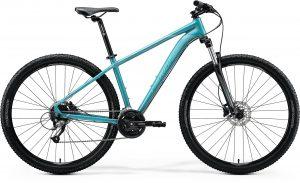 Велосипед 29″ Merida BIG.NINE 40 Glossy Teal (Black/Silver-Teal) 2020