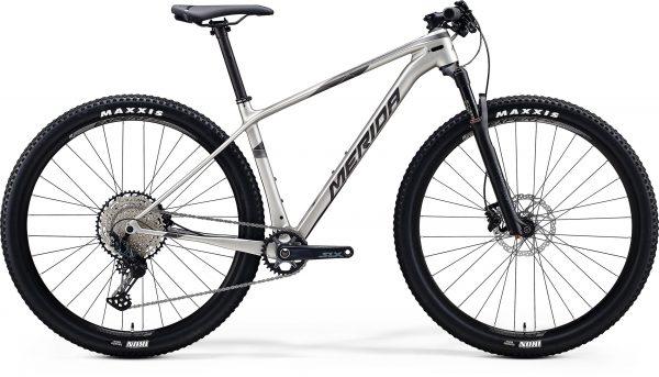 Велосипед 29″ Merida BIG.NINE 5000 Silk Titan (Black) 2020