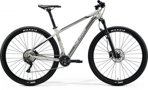 Велосипед 29″ Merida BIG.NINE 500 Silk Titan (Silver/Black) 2020