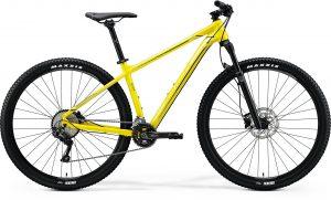 Велосипед 29″ Merida BIG.NINE 500 Glossy Bright Yellow (Black) 2020