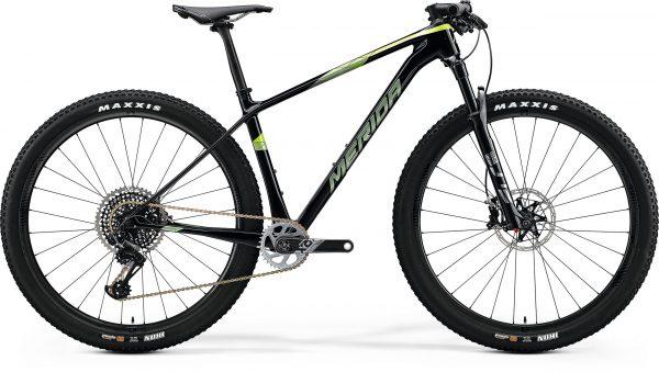 Велосипед 29″ Merida BIG.NINE 8000 UD+Transparent Green (Green) 2020