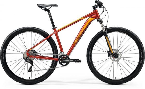 Велосипед 29″ Merida BIG.NINE 80 Glossy Sparkling Red (Orange) 2020