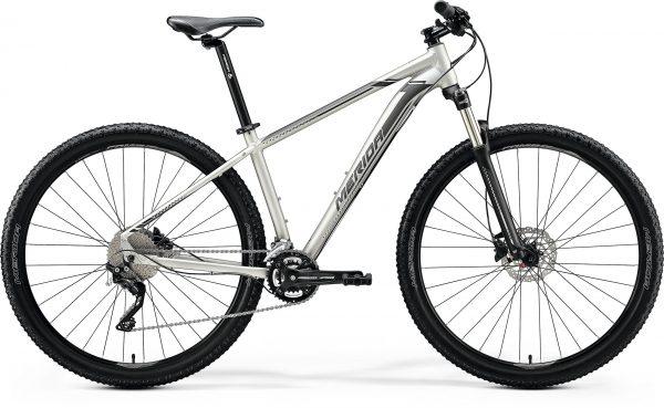 Велосипед 29″ Merida BIG.NINE 80 Matt Titan (Black/Silver) 2020