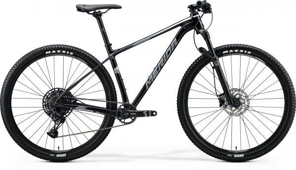 Велосипед 29″ Merida BIG.NINE Limited Metallic Black (Matt Dark Silver) 2020