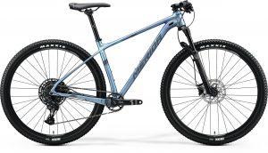 Велосипед 29″ Merida BIG.NINE Limited Silk Sparkling Blue (Silver-Blue) 2020