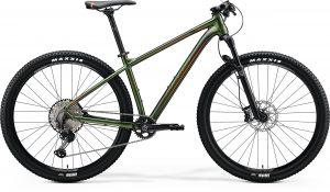 Велосипед 29″ Merida BIG.NINE XT-Edition Silk Fog Green (Red) 2020
