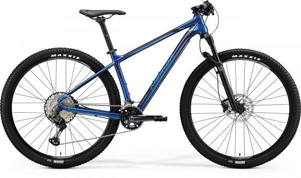 Велосипед 29″ Merida BIG.NINE XT2 Glossy Ocean Blue (Black) 2020