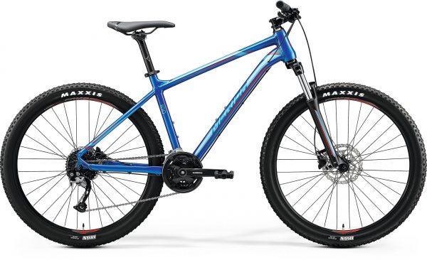 Велосипед 27.5″ Merida BIG.SEVEN 100 Glossy Blue (Red) 2020