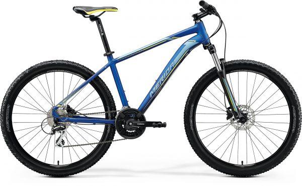 Велосипед 27.5″ Merida BIG.SEVEN 20-D Silk Medium Blue (Silver/Yellow) 2020