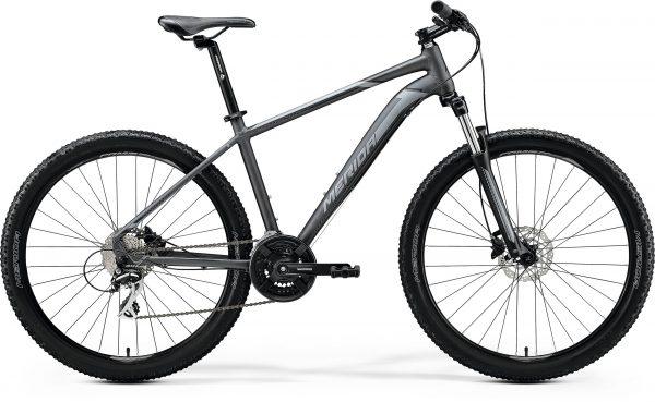 Велосипед 27.5″ Merida BIG.SEVEN 20-D Matt Anthracite (Black/Silver) 2020