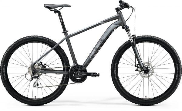 Велосипед 27.5″ Merida BIG.SEVEN 20-MD Matt Anthracite (Black/Silver) 2020