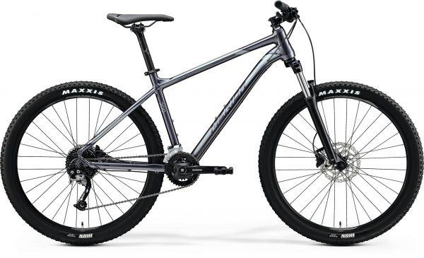 Велосипед 27.5″ Merida BIG.SEVEN 200 Glossy Anthracite (Black/Silver) 2020