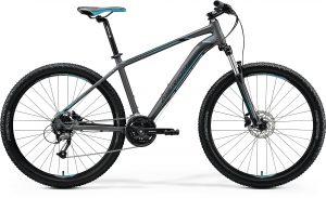 Велосипед 27.5″ Merida BIG.SEVEN 40 Matt Dark Silver (Blue/Blk) 2020