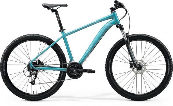 Велосипед 27.5″ Merida BIG.SEVEN 40 Glossy Teal (Black/Silver-Teal) 2020