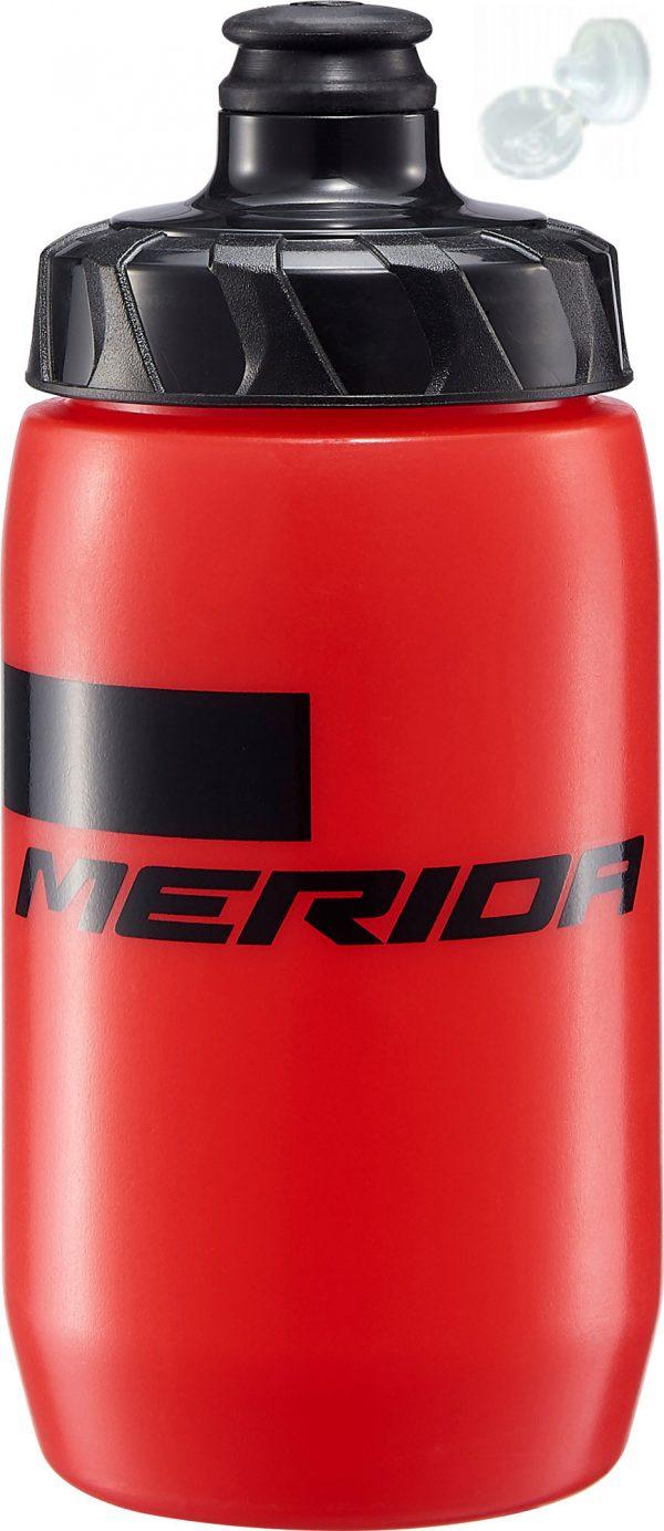 Фляга Merida Bottle/Stripe Red, Black 500 мл с крышкой