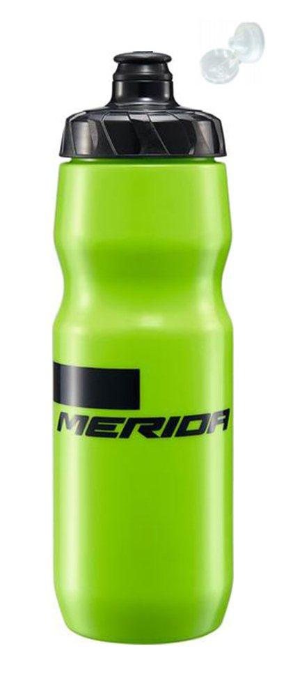 Фляга Merida Bottle/Stripe Green, Black 715 мл с крышкой
