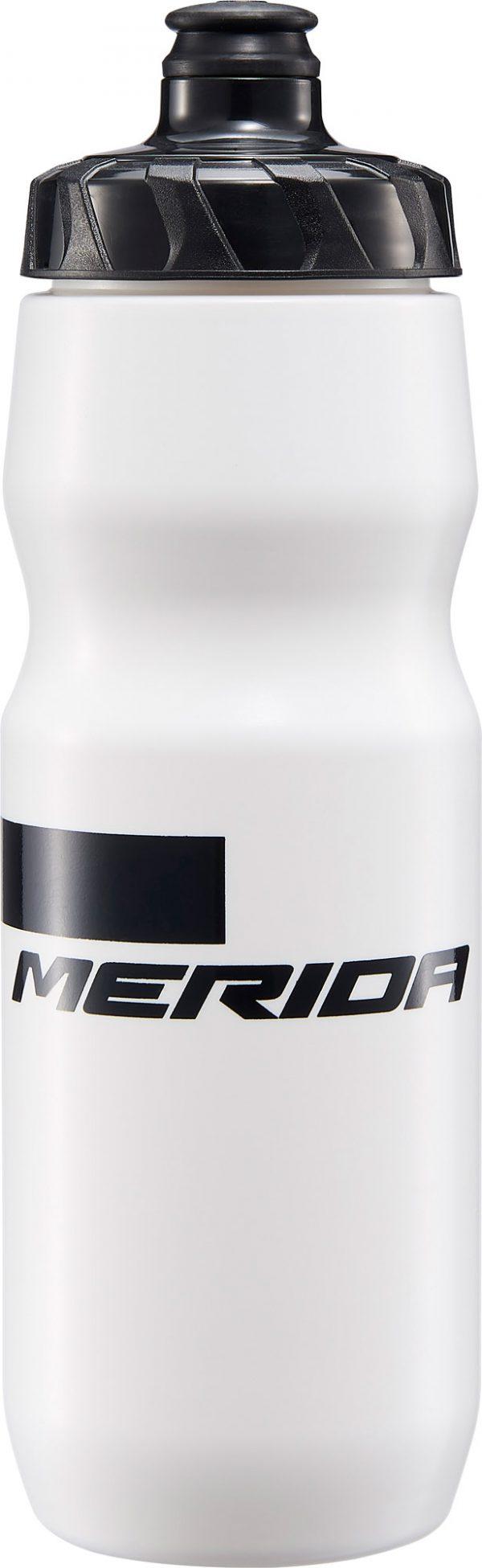 Фляга Merida Bottle/Stripe White, Black 715 мл