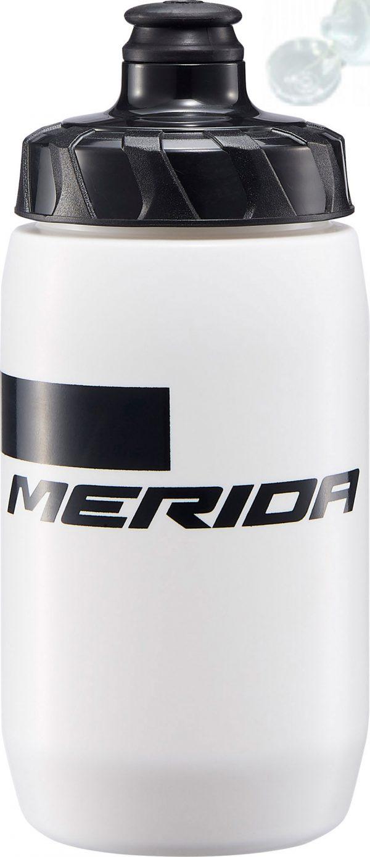 Фляга Merida Bottle/Stripe White, Black 500 мл с крышкой