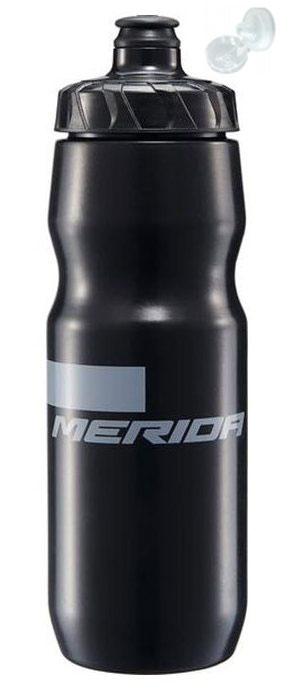 Фляга Merida Bottle/Stripe Black, Grey 715 мл с крышкой