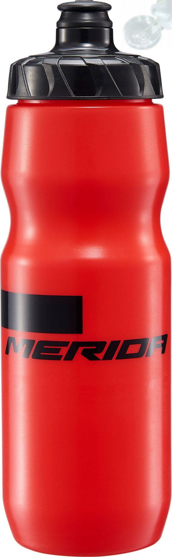 Фляга Merida Bottle/Stripe Red, Black 800 мл с крышкой
