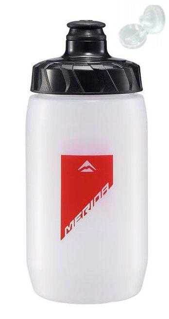 Фляга Merida Bottle/Transparent Red 500 мл с крышкой