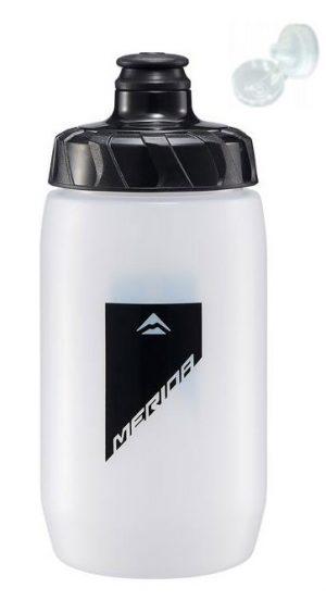 Фляга Merida Bottle/Transparent Black 500 мл с крышкой