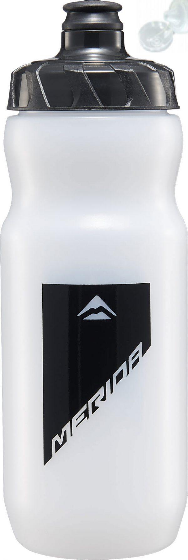 Фляга Merida Bottle/Transparent Black 715 мл с крышкой