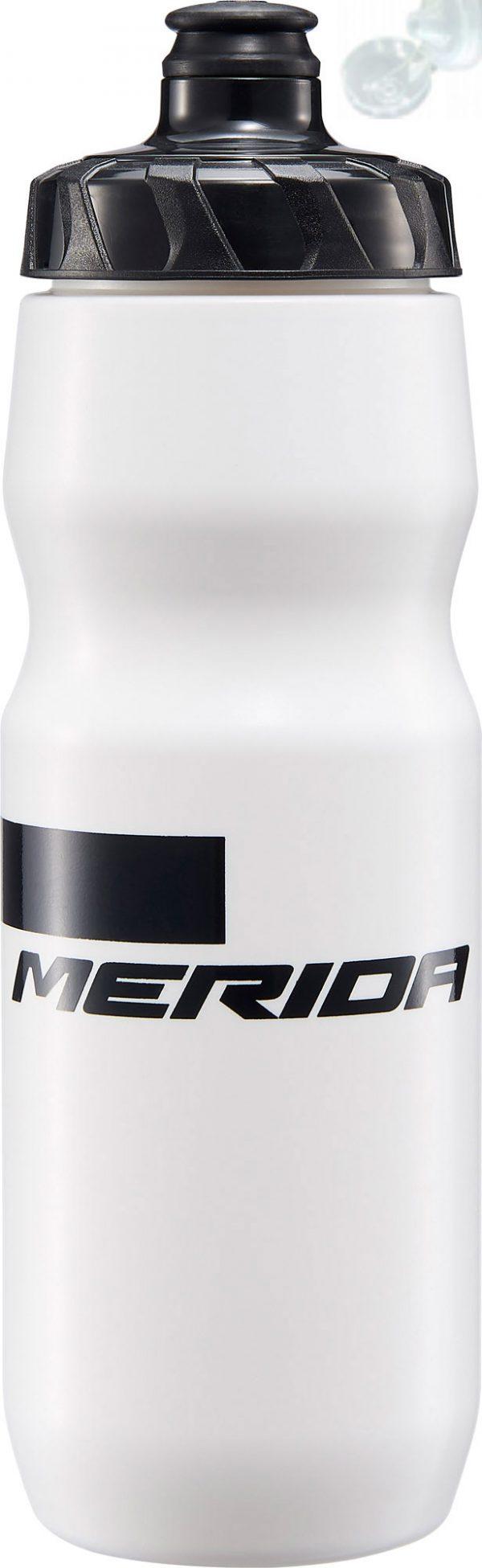 Фляга Merida Bottle/Stripe White, Black 800 мл с крышкой