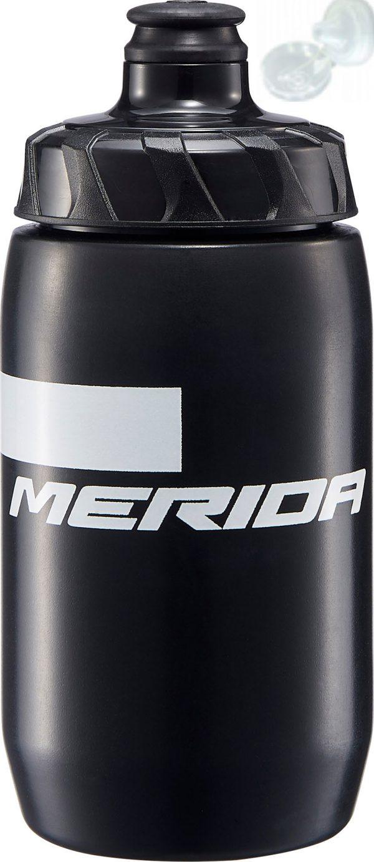 Фляга Merida Bottle/Stripe Black, White 500 мл с крышкой