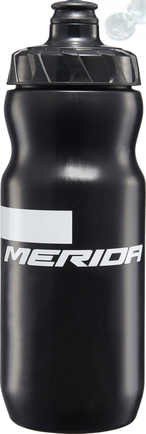 Фляга Merida Bottle/Stripe Black, White 715 мл с крышкой