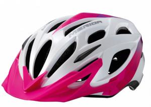 Шлем Merida Charger Glossy White, Pink, Purple