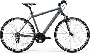 Велосипед 28″ Merida CROSSWAY 10-V Matt Dark Grey (Black/Grey) 2020