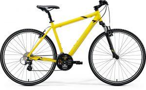 Велосипед 28″ Merida CROSSWAY 15-V Silk Bright Yellow (Black) 2020