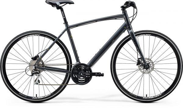 Велосипед 28″ Merida CROSSWAY URBAN 20 Dark Silver (Lime) 2020